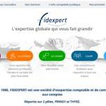 Site internet d'un cabinet d'expert comptable